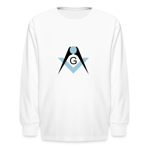Freemasons bib - Kids' Long Sleeve T-Shirt