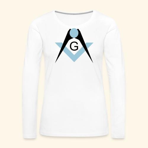 Freemasons bib - Women's Premium Long Sleeve T-Shirt