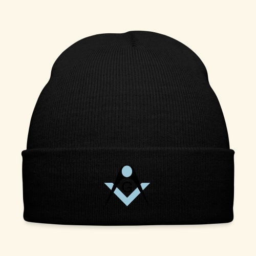 Freemasons bib - Knit Cap with Cuff Print