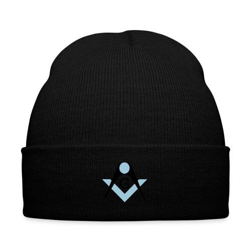 Freemasons bib - Knit Cap with Cuff Print