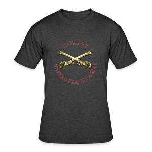 Cavalry Branch Insignia - Men's 50/50 T-Shirt
