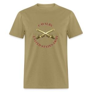 Cavalry Branch Insignia - Men's T-Shirt