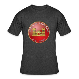 USACE Branch Plaque - Men's 50/50 T-Shirt