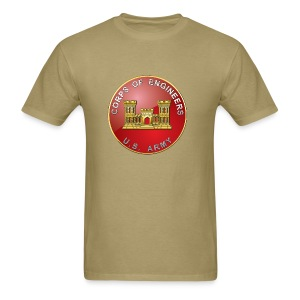 USACE Branch Plaque - Men's T-Shirt