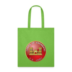 USACE Branch Plaque - Tote Bag