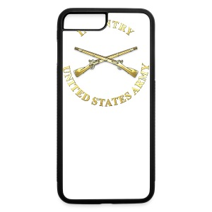Infantry Branch Insignia - iPhone 7 Plus Rubber Case