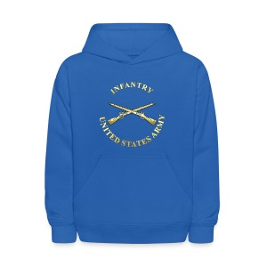 Infantry Branch Insignia - Kids' Hoodie