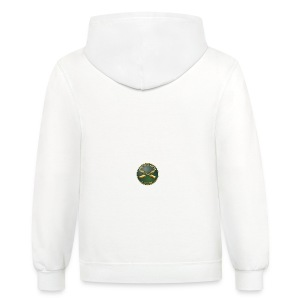 Army SF Branch Plaque - Contrast Hoodie