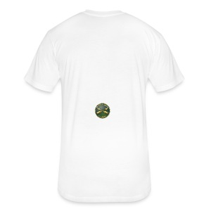 Army SF Branch Plaque - Fitted Cotton/Poly T-Shirt by Next Level