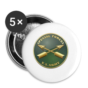 Army SF Branch Plaque - Small Buttons
