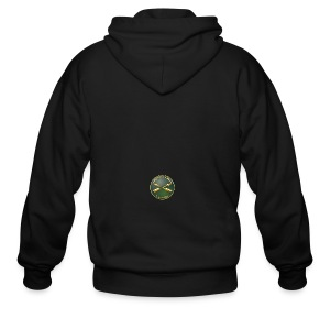 Army SF Branch Plaque - Men's Zip Hoodie