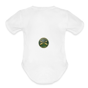 Army SF Branch Plaque - Short Sleeve Baby Bodysuit