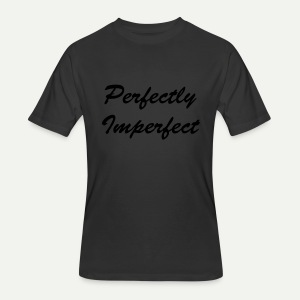 Perfectly Imperfect - Men's 50/50 T-Shirt