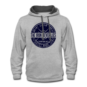 The Iron NEVER lies - Contrast Hoodie