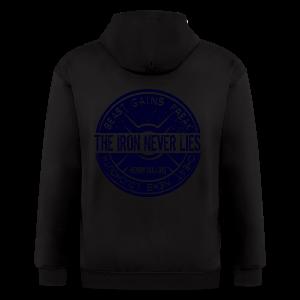 The Iron NEVER lies - Men's Zip Hoodie