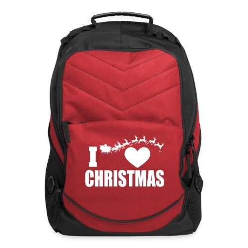 I Love Christmas  - Computer Backpack