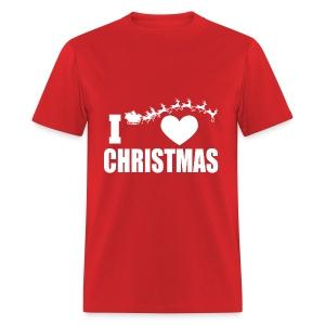 I Love Christmas  - Men's T-Shirt