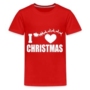 I Love Christmas  - Kids' Premium T-Shirt