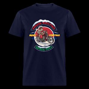 Santa's Wolfpack - Men's T-Shirt
