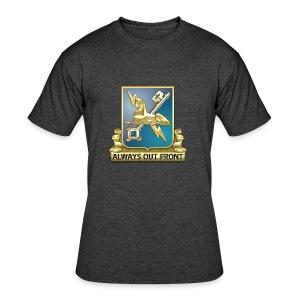 MI Regimental Insignia - Men's 50/50 T-Shirt