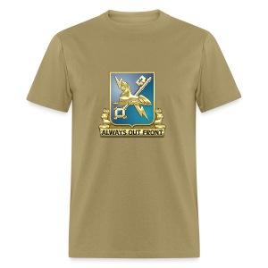 MI Regimental Insignia - Men's T-Shirt