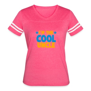 I'm the COOL uncle! Tanks - Women's Vintage Sport T-Shirt