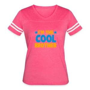 I'm the COOL Brother Tanks - Women's Vintage Sport T-Shirt