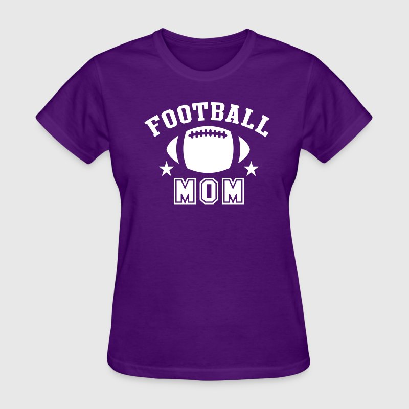FOOTBALL MOM STAR DESIGN T-Shirt WP - Women's T-Shirt