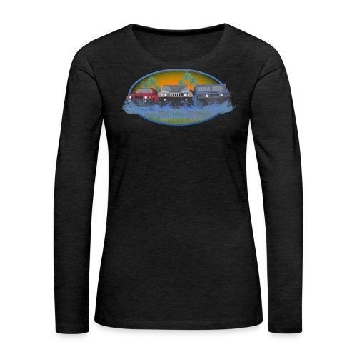 Original Florida Hummer Club Womens - Women's Premium Long Sleeve T-Shirt