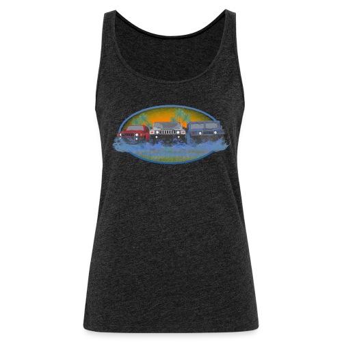 Original Florida Hummer Club Womens - Women's Premium Tank Top