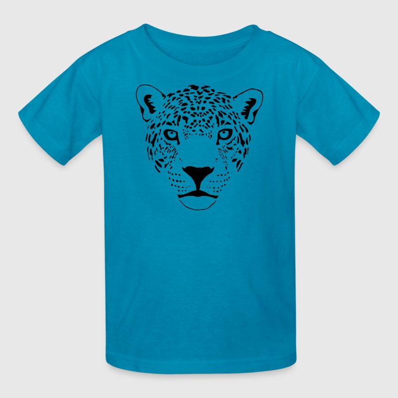 jaguar cougar cat puma panther leopard cheetah Kids' Shirts - Kids' T-Shirt