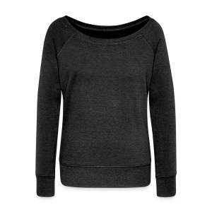 Three maple leaves - Women's Wideneck Sweatshirt