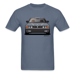 Modern Euro Icon Bavarian E32 - Men's T-Shirt
