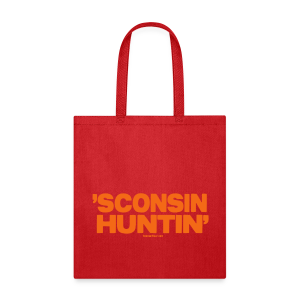 'Sconsin Huntin' - Neon Orange - Tote Bag