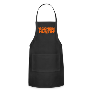 'Sconsin Huntin'- Glow in the Dark - Adjustable Apron