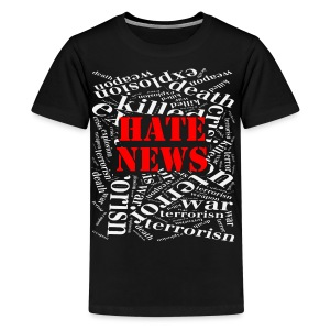 Hate news - Kids' Premium T-Shirt