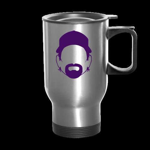 The Toddfather Headshot - Hoodie - Travel Mug