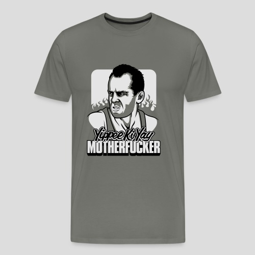 Die Hard: Yippee Ki Yay Motherfucker - Men's Premium T-Shirt