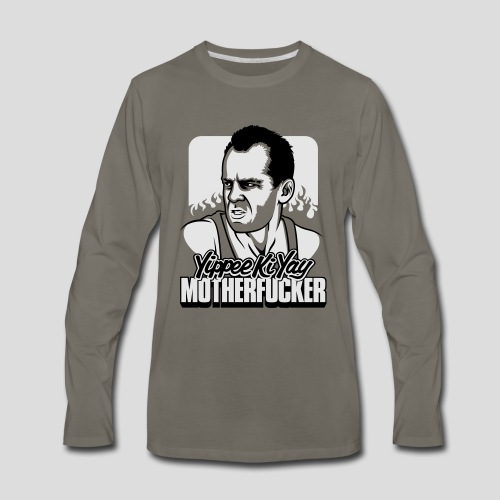 Die Hard: Yippee Ki Yay Motherfucker - Men's Premium Long Sleeve T-Shirt