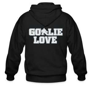 Goalie Love - Mens - Men's Zip Hoodie