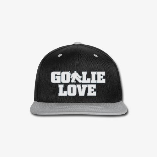 Goalie Love - Mens - Snap-back Baseball Cap