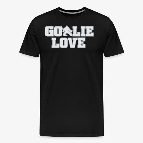 Goalie Love - Mens - Men's Premium T-Shirt