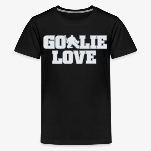 Goalie Love - Mens - Kids' Premium T-Shirt