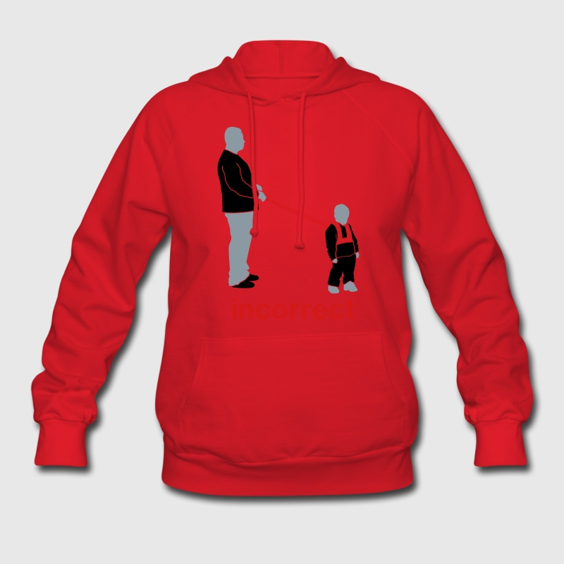 Incorrect: Child Leash Hoodies - Women's Hoodie