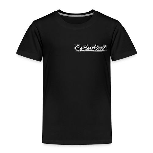 O.G Bass Boost Premium Kids Shirt - Toddler Premium T-Shirt