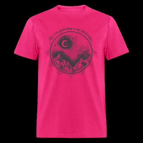 Life's too serious_dark - Men's T-Shirt