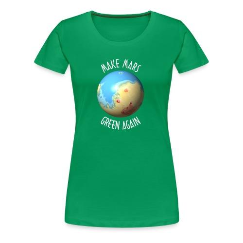 Make Mars green again