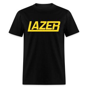 Yellow Logo Lazer Sweatshirt - Men's T-Shirt