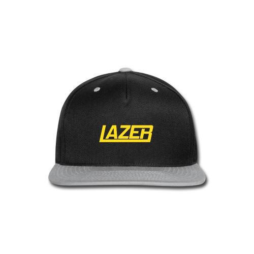 Yellow Logo Lazer Sweatshirt - Snap-back Baseball Cap