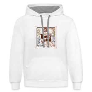 Happy Thanksgiving - Contrast Hoodie